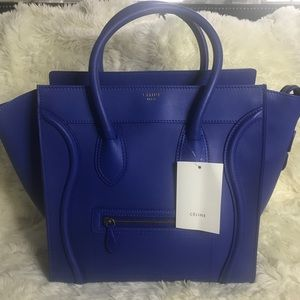 Authentic Celine Mini Luggage Bag Purse